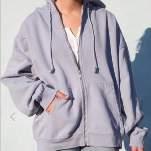 NWT brandy melville pastel blue christy hoodie